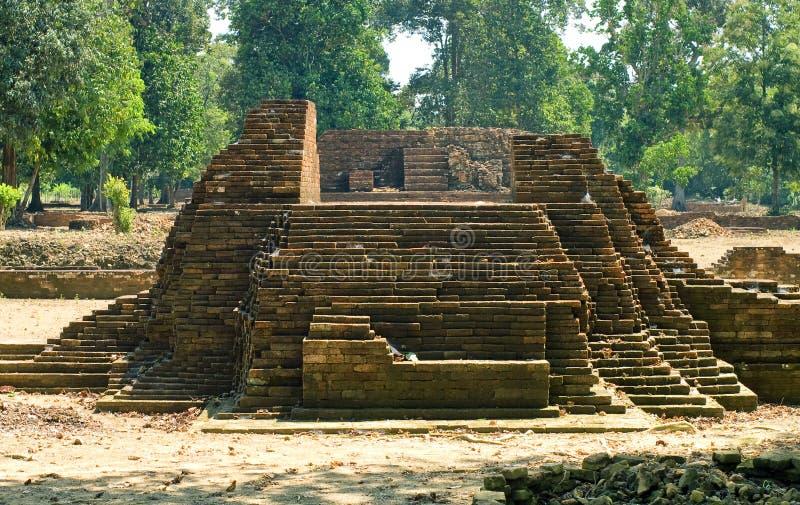 Templo de Muara Jambi. imágenes de archivo libres de regalías