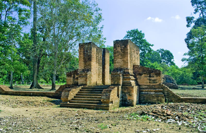 Templo de Muara Jambi. imagenes de archivo