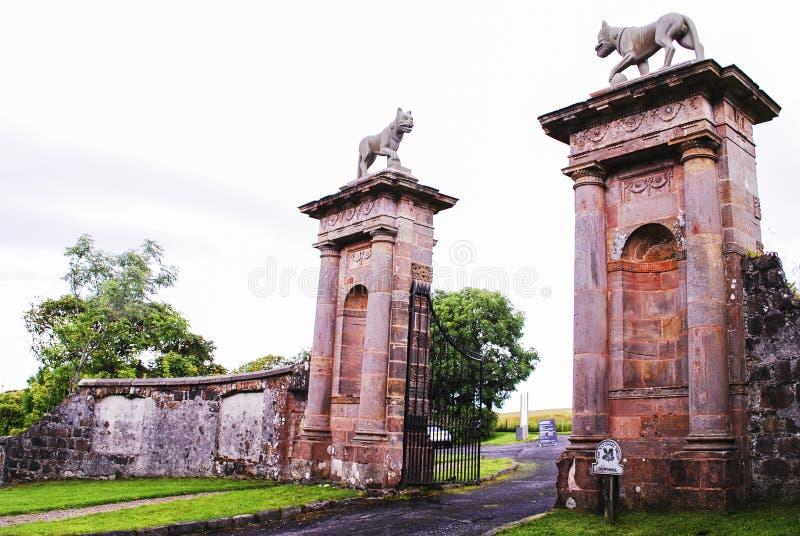 Templo de Museenden e Demesne em declive imagem de stock