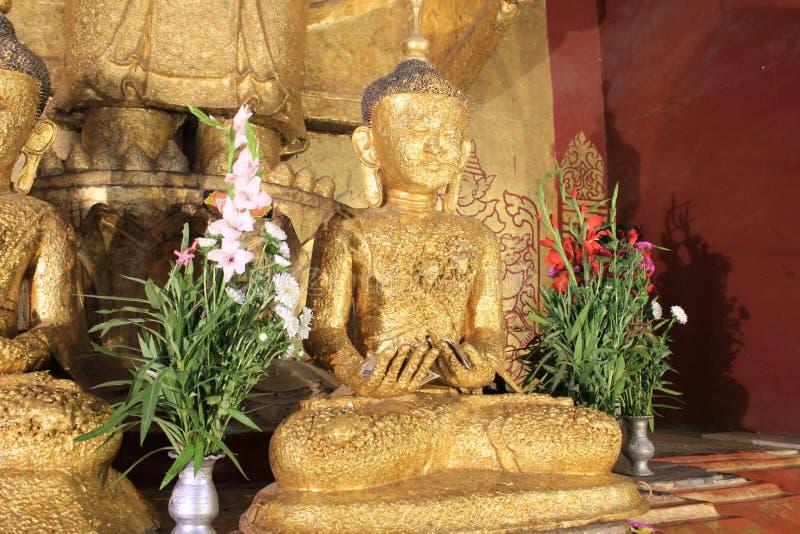 Templo de Myanmar Bagan fotos de stock royalty free