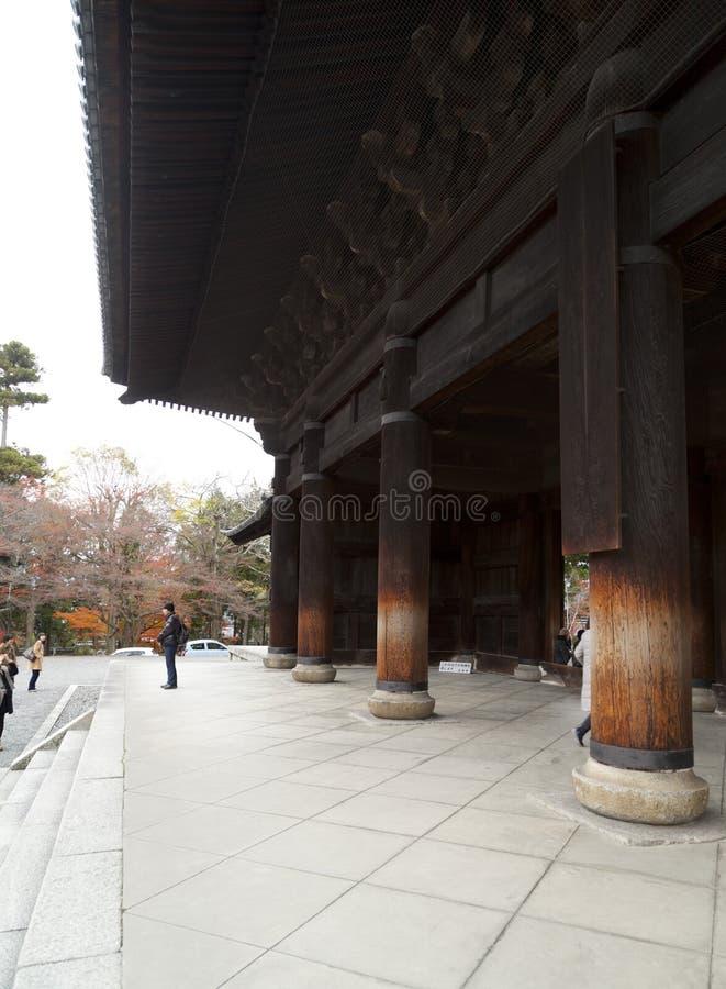 Templo de Nanzen-ji imagem de stock