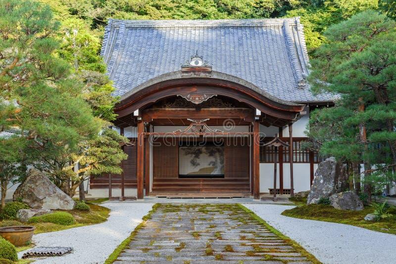 Templo de Nanzen-ji em Kyoto fotografia de stock