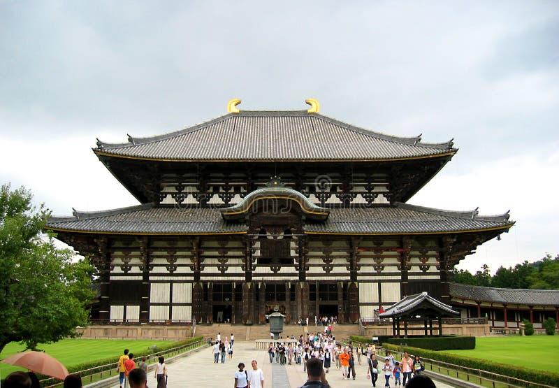 Templo de Nara foto de archivo
