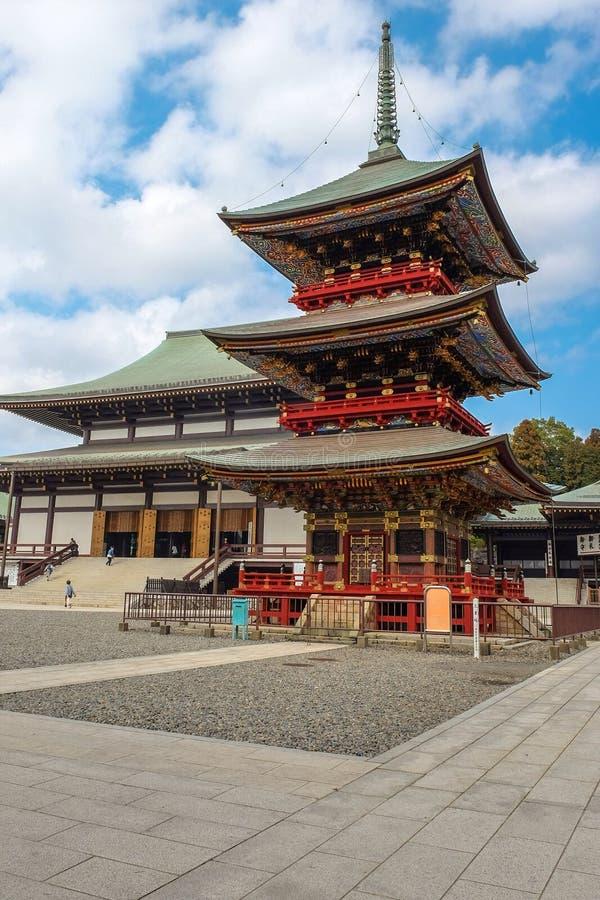 Templo de Naritasan Shinshoji fotografía de archivo libre de regalías
