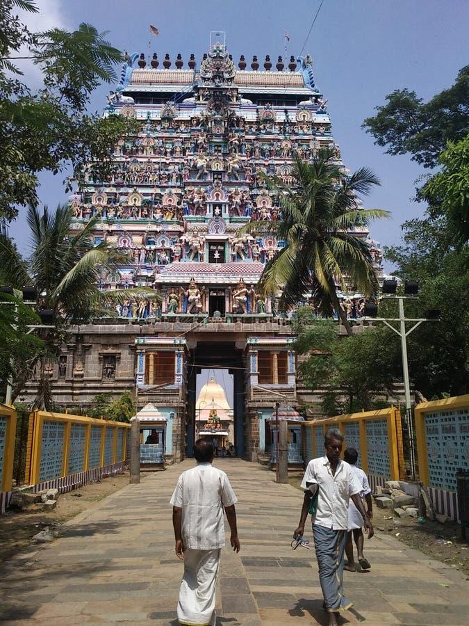 Templo de Nataraj fotos de archivo libres de regalías