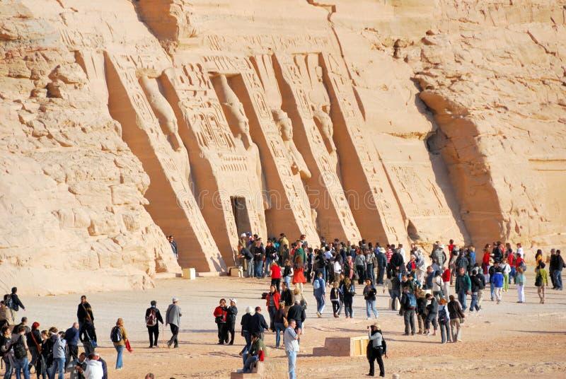 Templo de Nefertari imagen de archivo
