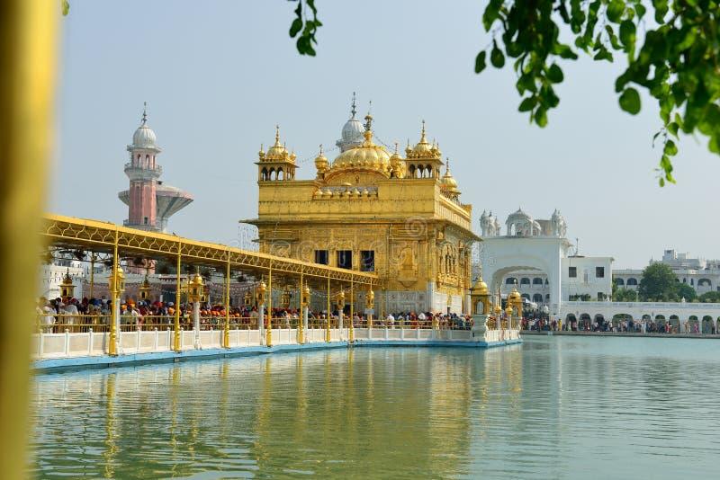 Templo de oro, Amritsar fotos de archivo