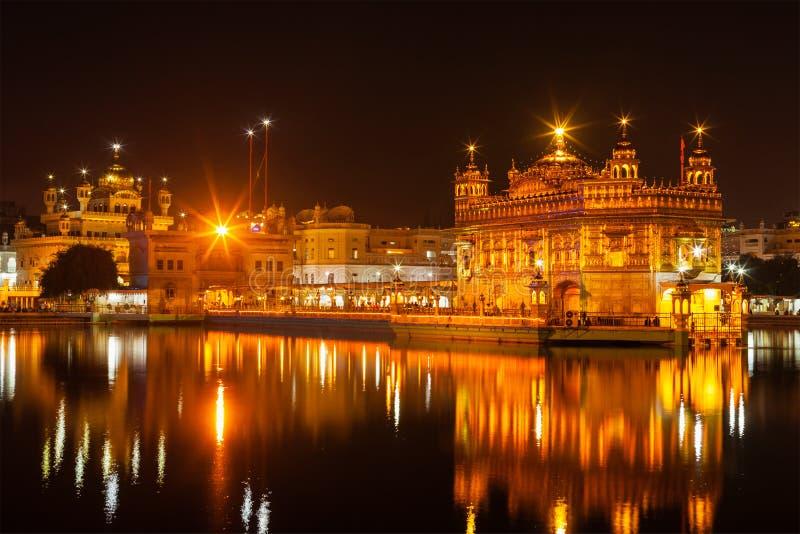 Templo de oro, Amritsar imagen de archivo libre de regalías