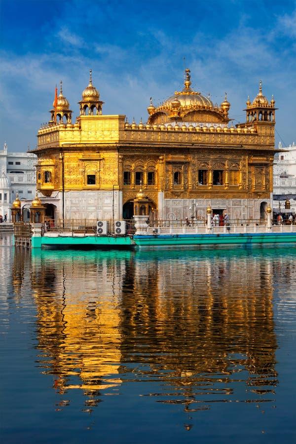 Templo de oro, Amritsar imagenes de archivo