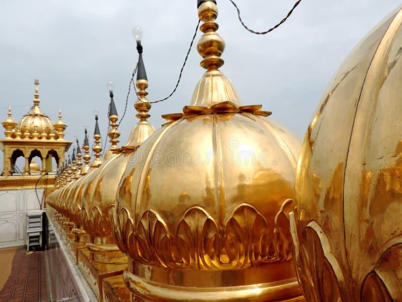 Templo de oro, Amritsar, la India fotografía de archivo