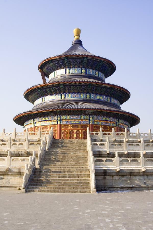 Templo de Pekín del cielo fotografía de archivo