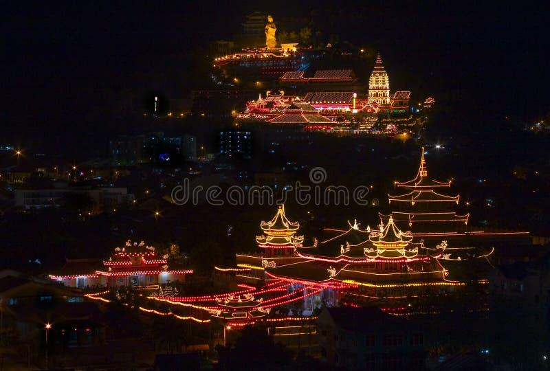Templo de Penang Kek Lok Si foto de archivo
