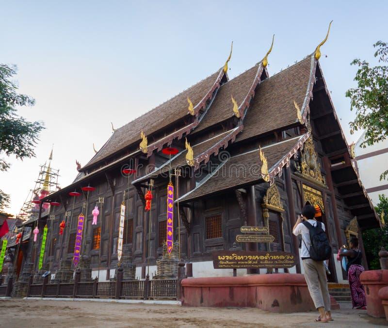 Templo de Phan Tao foto de archivo libre de regalías