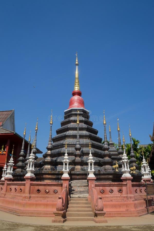 Templo de Phan Tao foto de stock