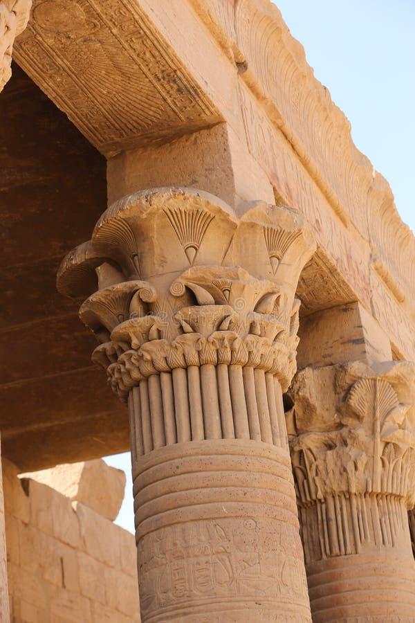 Templo de Philae - Egipto foto de archivo libre de regalías