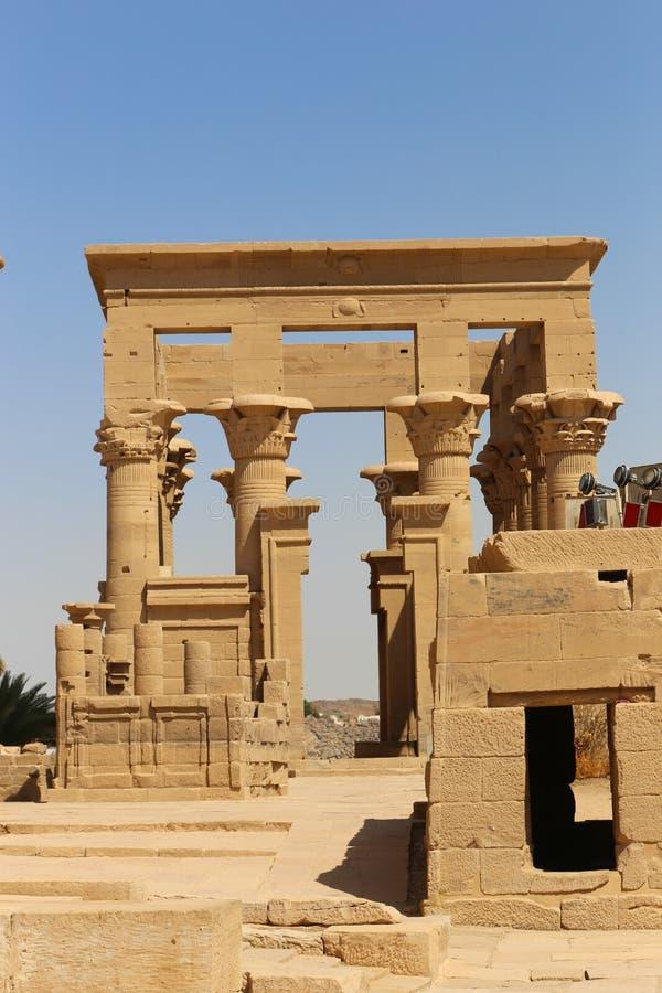 Templo de Philae - Egipto fotografía de archivo