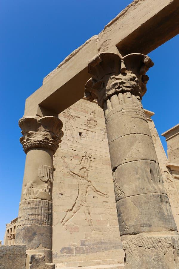 Templo de Philae - Egipto fotos de archivo libres de regalías