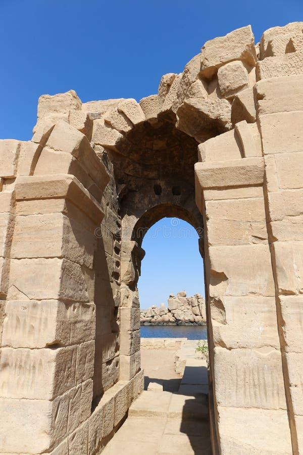 Templo de Philae - Egipto imagenes de archivo