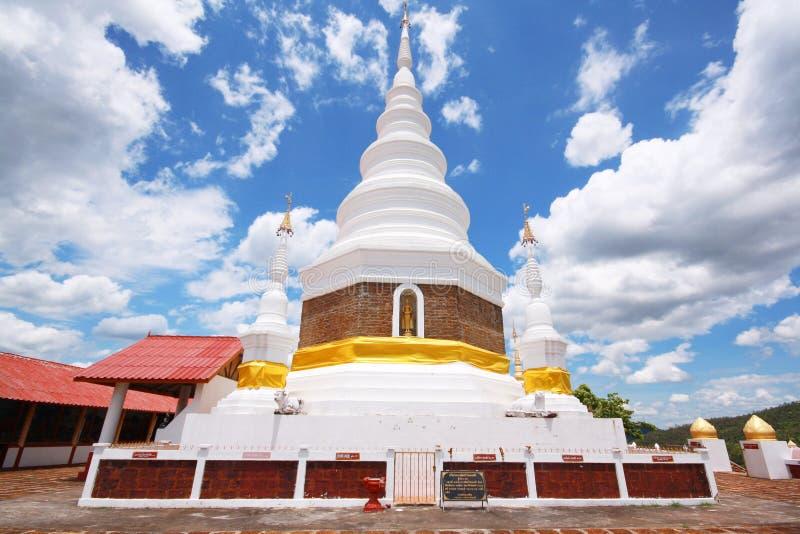 Templo de Phra Jedi Sriwichai Jom Kiri, Lamphun Tailandia imagen de archivo