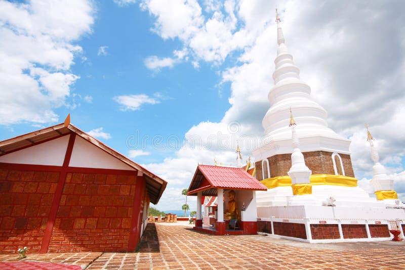 Templo de Phra Jedi Sriwichai Jom Kiri, Lamphun Tailandia fotografía de archivo
