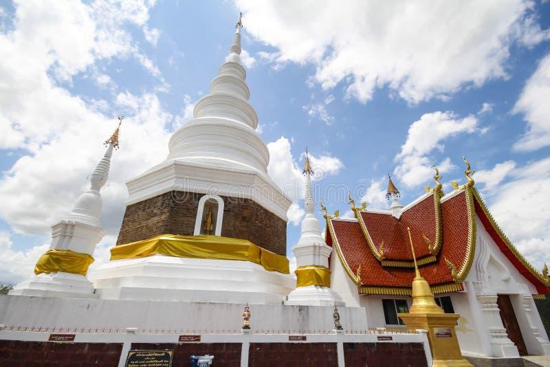 Templo de Phra Jedi Sriwichai Jom Kiri, Lamphun Tailandia imágenes de archivo libres de regalías