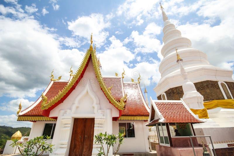 Templo de Phra Jedi Sriwichai Jom Kiri, Lamphun Tailandia fotografía de archivo libre de regalías