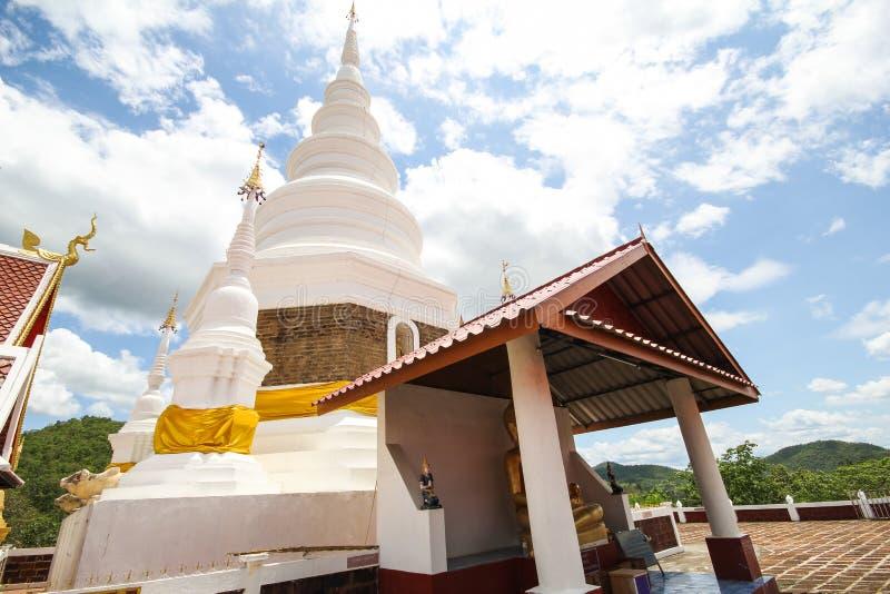 Templo de Phra Jedi Sriwichai Jom Kiri, Lamphun Tailandia foto de archivo libre de regalías