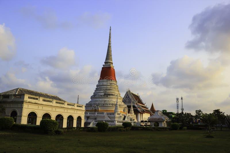 Templo de Phra Samut Chedi fotos de archivo libres de regalías