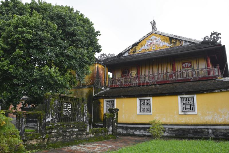 Templo de Phuoc Tho foto de archivo