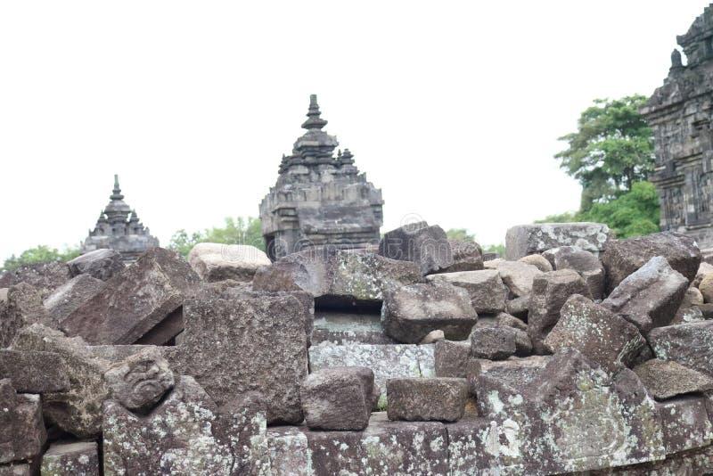Templo de Plaosan fotos de stock