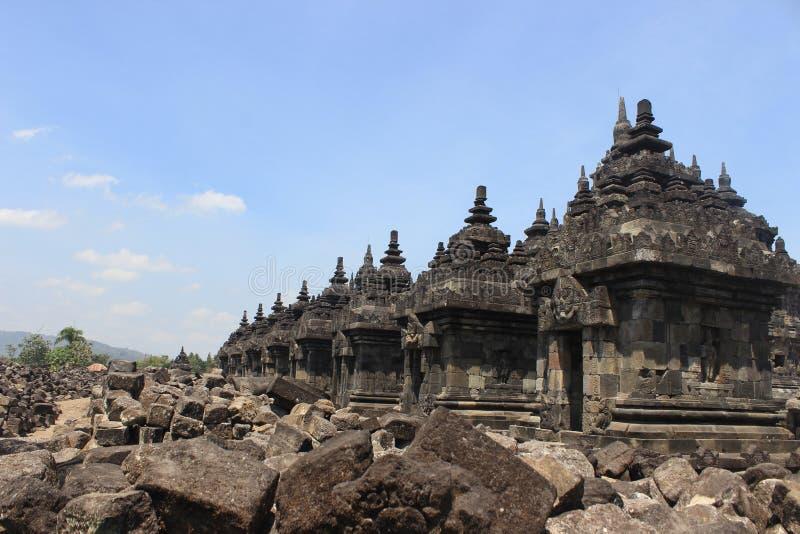 Templo de Plaosan imagens de stock royalty free