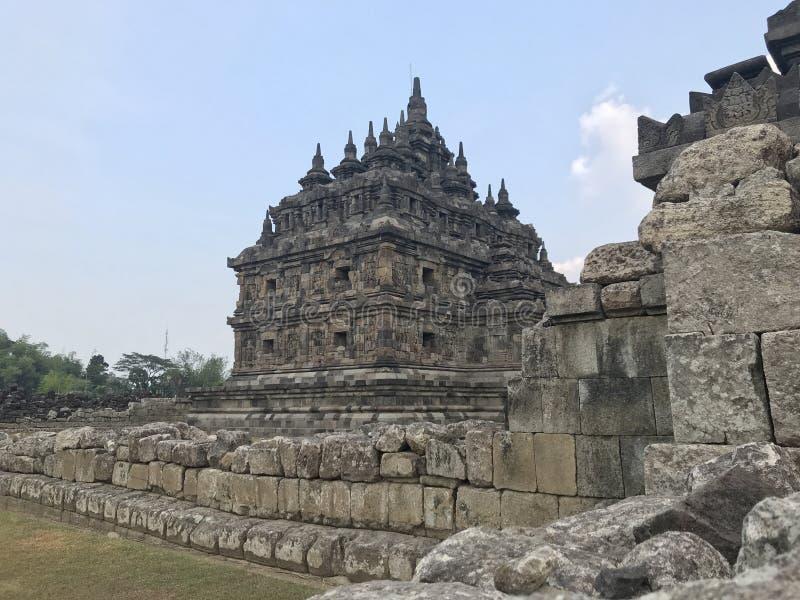 Templo de Plaosan fotografía de archivo
