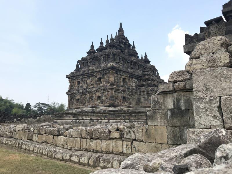 Templo de Plaosan foto de archivo libre de regalías