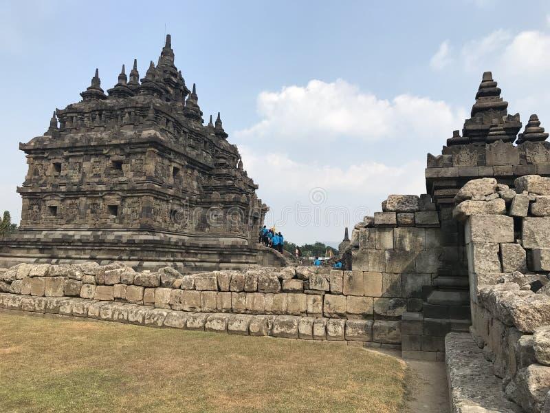 Templo de Plaosan fotos de archivo libres de regalías