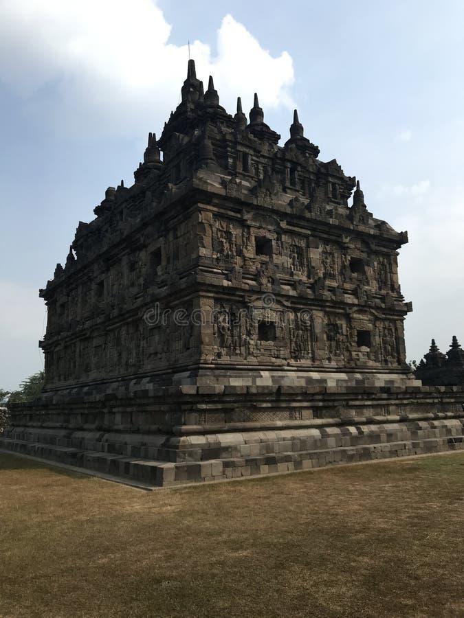 Templo de Plaosan imágenes de archivo libres de regalías