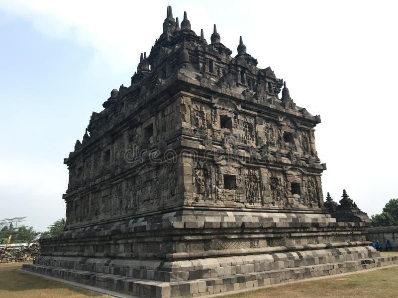 Templo de Plaosan imagenes de archivo