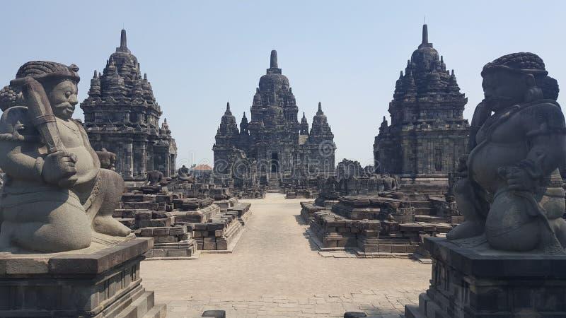 Templo de Prambanan fotos de archivo