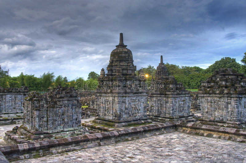 Templo de Prambanan. fotos de stock