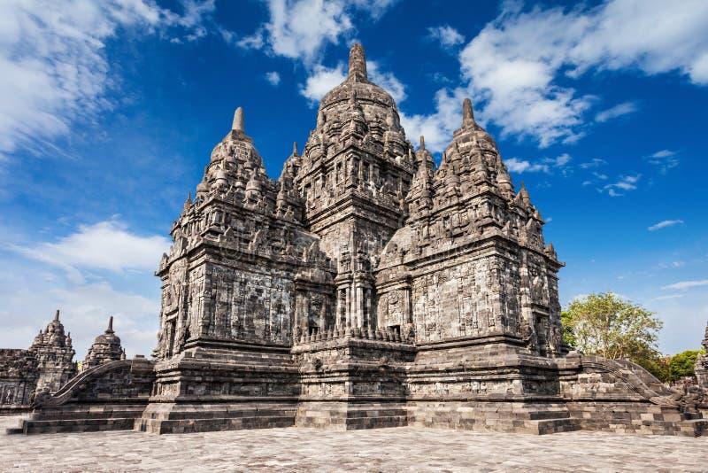 Templo de Prambanan foto de archivo