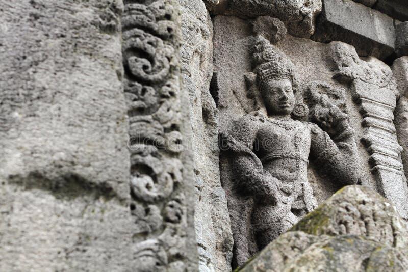 Templo de Prambanan cerca de Yogyakarta imagen de archivo