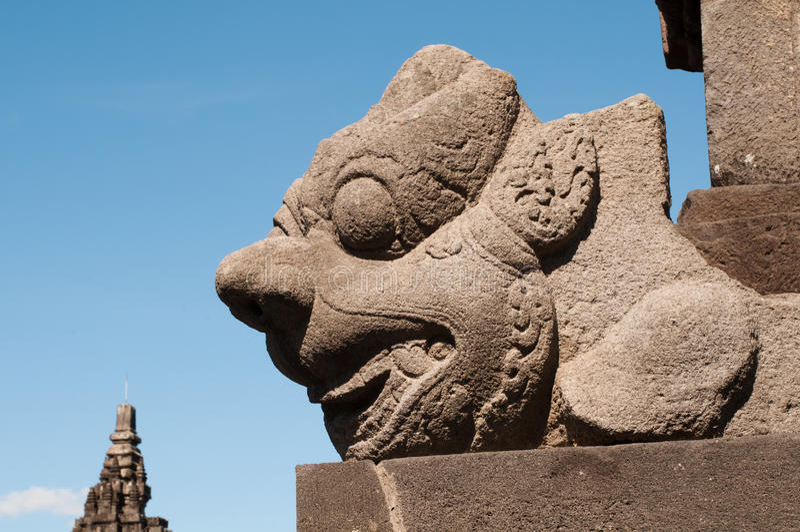 Templo de Prambanan, Java, Indonésia foto de stock