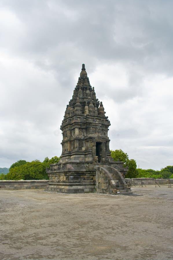 Templo de Prambanan. Yogyakarta, Java, Indonésia foto de stock royalty free