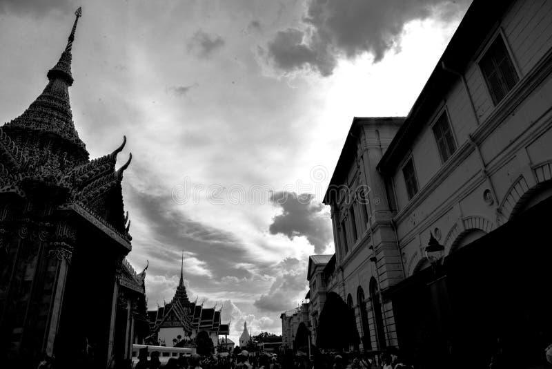 Templo de Pranakorn em Tailândia fotografia de stock