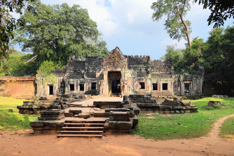 Templo de Preah Khan imagen de archivo libre de regalías