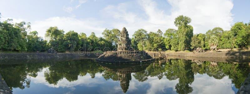 Templo de Preah Neak Pean, Angkor Wat, Camboya imágenes de archivo libres de regalías