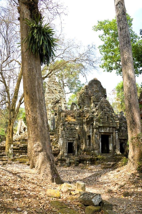 Templo de Preah Palilay, Cambodia imagens de stock