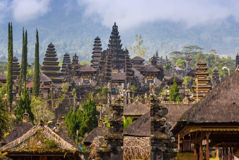 Templo de Pura Besakih, Bali imagem de stock royalty free