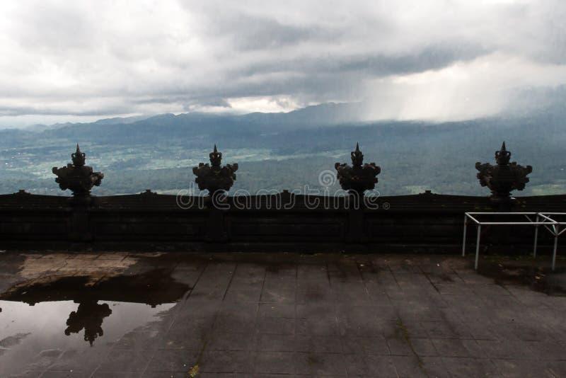 Templo de Pura Lempuyang fotografia de stock