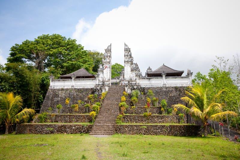 Templo de Pura Lempuyang. Bali imagens de stock royalty free