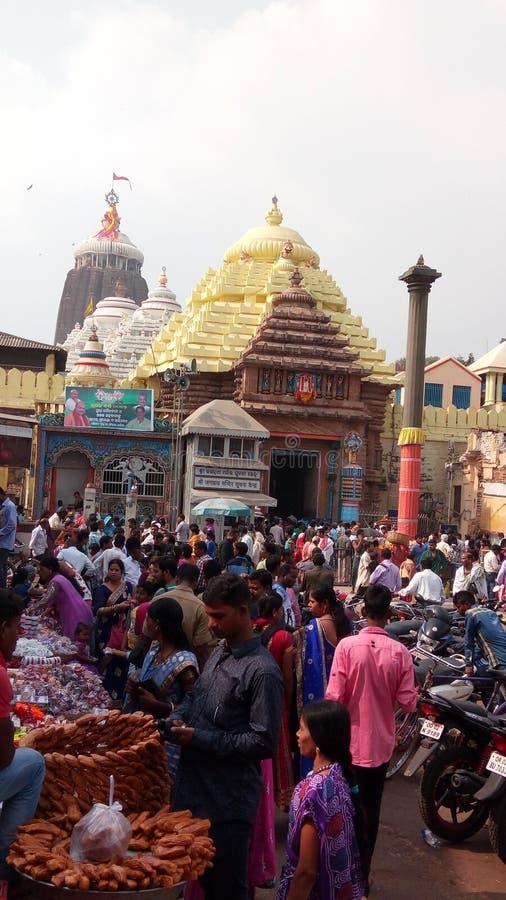 Templo de Puri foto de stock